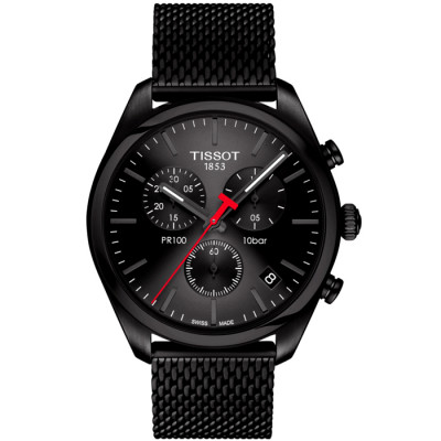 TISSOT PR 100 CHRONOGRAPH QUARTZ 41MM MEN'S WATCH T101.417.33.051.00