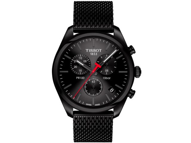 TISSOT PR 100 CHRONOGRAPH QUARTZ 41MM MEN'S WATCH T101.417.33.051.00