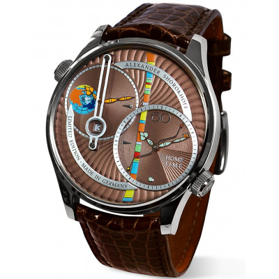 ALEXANDER SHOROKHOFF LEVELS AUTOMATIC 46.5MM LIMITED EDITION 99PIECES AS.DT03-4