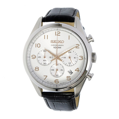 SEIKO CLASSIC CHRONOGRAPH 42MM MEN'S WATCH SSB227P1