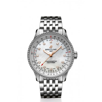 BREITLING NAVITIMER AUTOMATIC 35 LADIES WATCH A17395211A1A1