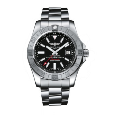 BREITLING AVENGER II GMT 43MM AUTOMATIC  MEN'S WATCH  A3239011/BC35/170A