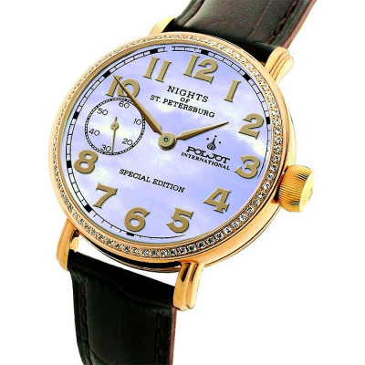 POLJOT INTERNATIONAL NIGHTS OF ST. PETERSBURG SPECIAL EDITION HAND WINDING 43MM MEN'S WATCH 9011.1940867Z