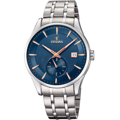 FESTINA RETRO 41MM MEN`S WATCH F20276/2
