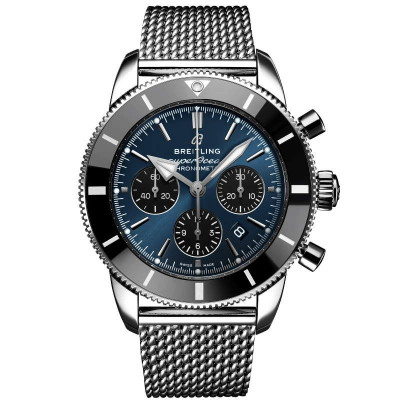 BREITLING  SUPEROCEAN  HERITAGE B01 CHRONOGRAPH 44 MEN'S WATCH AB0162121C1A1