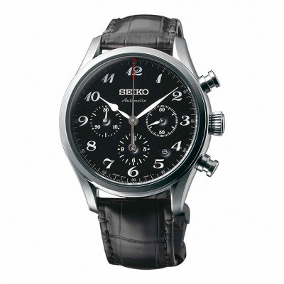 SEIKO PRESAGE AUTOMATIC CHRONOGRAPH LIMITED EDITION 42MM MEN'S WATCH SRQ021J1
