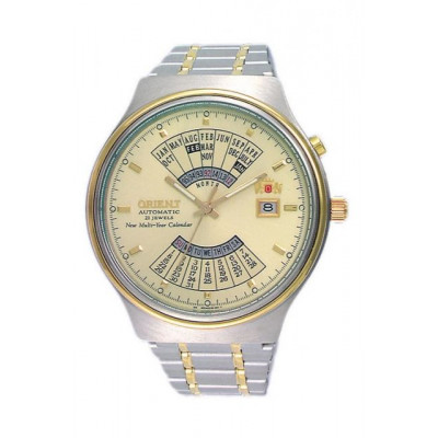 ORIENT MULTI-YEAR CALENDAR 43 MM MEN'S WATCH FEU00000C
