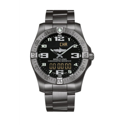 BREITLING AEROSPACE EVO 43MM SUPER QUARTZ   MEN'S WATCH E7936310/BC27/152E