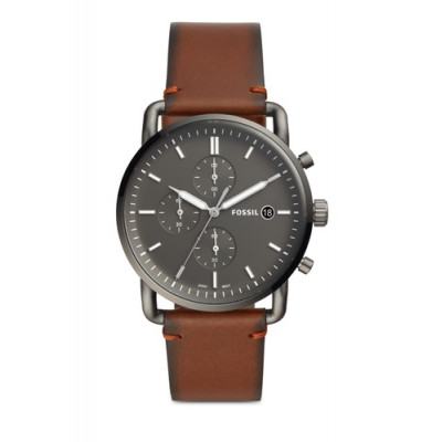 FOSSIL THE COMMUTER CHRONO 44MM MEN'S WATCH FS5523