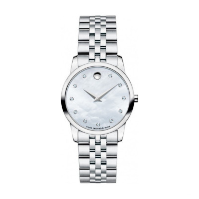 MOVADO MUSEUM QUARTZ 28MM LADY'S WATCH 606612