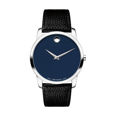 MOVADO MUSEUM QUARTZ 40MM MEN'S WATCH 607013