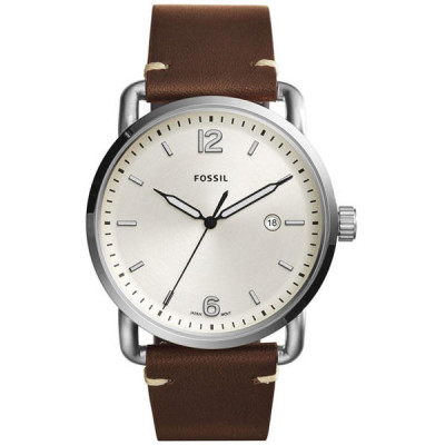 FOSSIL THE COMMUTER 3H DATE 42MM MEN'S WATCH FS5275