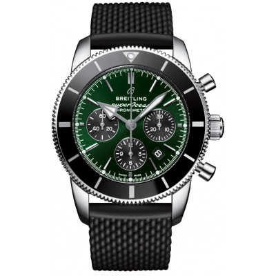 BREITLING SUPEROCEAN HERITAGE B01 CHRONOGRAPH 44 MEN'S WATCH LIMITED EDITION 500PCS AB01621A1L1S1