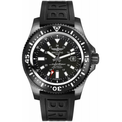 BREITLING SUPEROCEAN 44 SPECIAL BLACKSTEEL AUTOMATIC MEN'S  WATCH M1739313/BE92