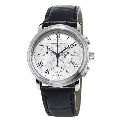 FREDERIQUE CONSTANT CLASSICS CHRONOGRAPH  QUARTZ 40MM MAN'S WATCH FC-292MC4P6