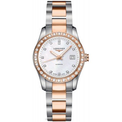 LONGINES CONQUEST CLASSIC AUTOMATIC 29.5MM LADIES WATCH L2.285.5.88.7