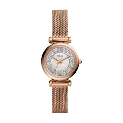 FOSSIL CARLIE MINI 28MM LADIES WATCH ES4836
