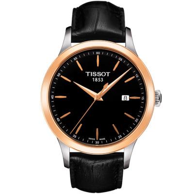 TISSOT T-GOLD CLASSIC GENT QUARTZ 41.5MM MEN'S WATCH T912.410.46.051.00