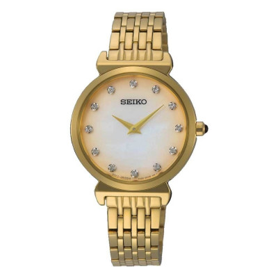 SEIKO CLASSIC 30MM LADY'S WATCH SFQ802P1