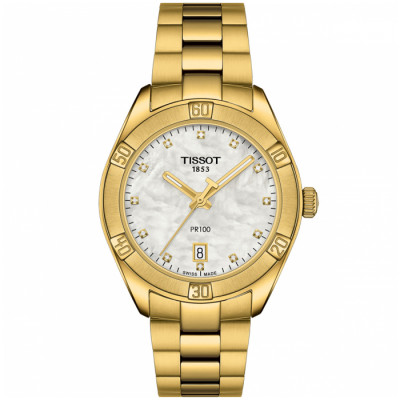 TISSOT PR 100  36MM  LADIES WATCH T101.910.33.116.01