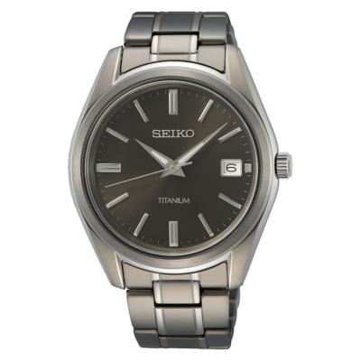 SEIKO CLASSIC TITAN 40MM MEN'S WATCH SUR375P1
