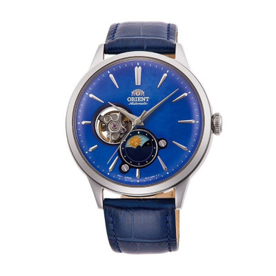 ORIENT CLASSIC AUTOMATIC OPEN HEART 42MM MEN'S WATCH  RA-AS0103A