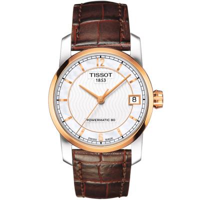 TISSOT TITANIUM AUTOMATIC POWERMATIC80 32MM LADIES  WATCH T087.207.56.117.00