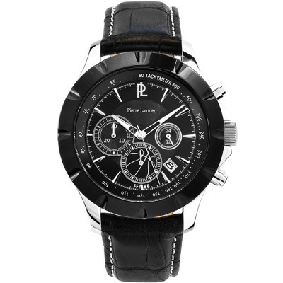 PIERRE LANNIER ELEGANCE CHRONO 45MM MEN'S WATCH 200D333