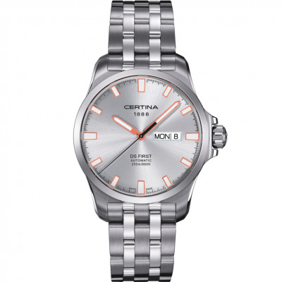 CERTINA DS FIRST DAY-DATE AUTOMATIC 40MM MEN'S WATCH C014.407.11.031.01