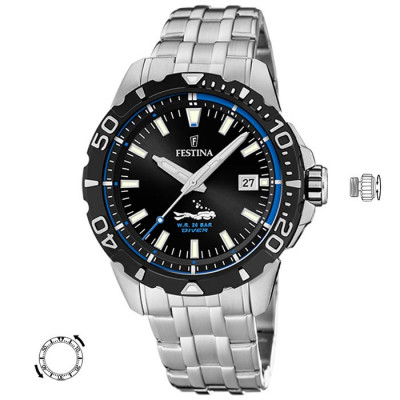 FESTINA DIVER 45MM MENS WATCH F20461/4