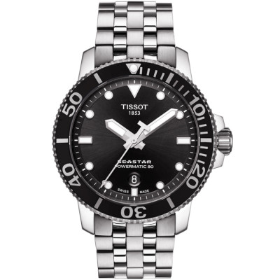 TISSOT SEASTAR 1000 POWERMATIC80 43MM MEN'S WATCH T120.407.11.051.00