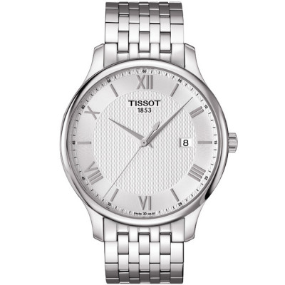 TISSOT TRADITION QUARTZ  42MM MEN'S  WATCH T063.610.11.038.00