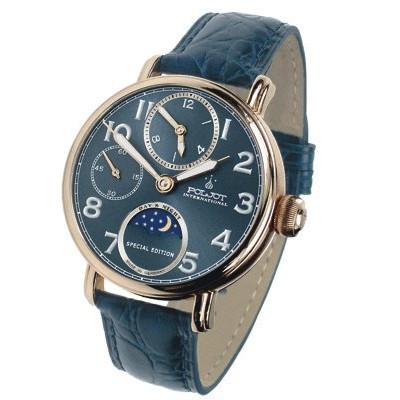 POLJOT INTERNATIONAL  DOUBLE TIME HAND WINDING 43MM MEN'S WATCH  9120.2940432