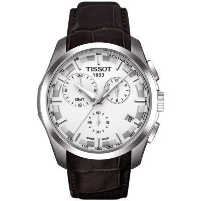 TISSOT COUTURIER QUARTZ CHRONOGRAPH GMT 41MM MEN'S WATCH T035.439.16.031.00