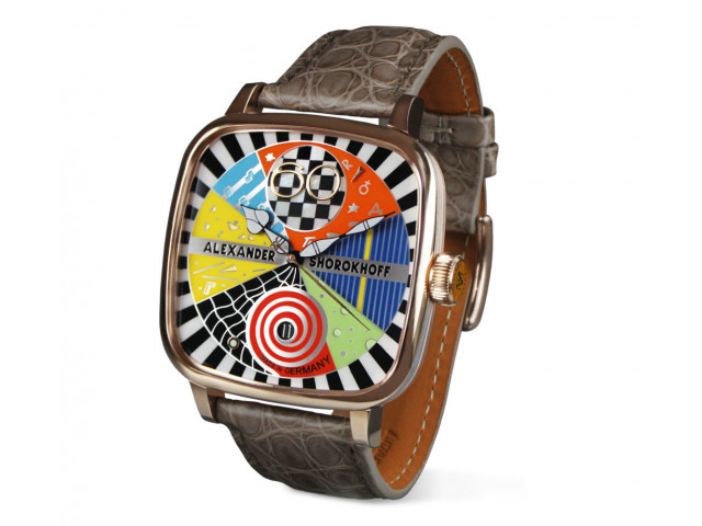 ALEXANDER SHOROKHOFF CANDY AUTOMATIC 41X41MM LIMITED EDITION 53PCS AS.KD-AVG-3
