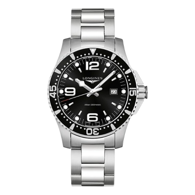 LONGINES HYDROCONQUEST QUARTZ  44MM MAN'S WATCH L3.840.4.56.6