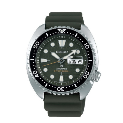 SEIKO PROSPEX KING TURTLE SAVE THE OCEAN AUTOMATIC DIVER 45MM MEN'S WATCH SRPE05K1