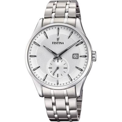 FESTINA RETRO 41MM MEN`S WATCH F20276/1