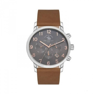 SANTA BARBARA POLO & RACQUET CLUB NOBLE 42 MM MEN`S WATCH SB.11.1101.5