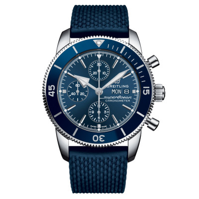 BREITLING SUPEROCEAN HERITAGE CHRONOGRAPH  44 MEN'S WATCH A13313161C1S1