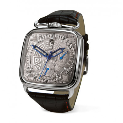 ALEXANDER SHOROKHOFF FEDOR DOSTOEVSKY UNIQUE AUTOMATIC  43x43MM MEN'S WATCH LIMITED EDITION 25PIECES   AS.FD.D2A