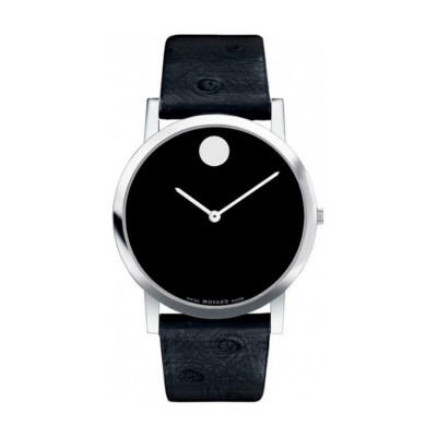 MOVADO MUSEUM QUARTZ 40MM MEN'S WATCH 606220