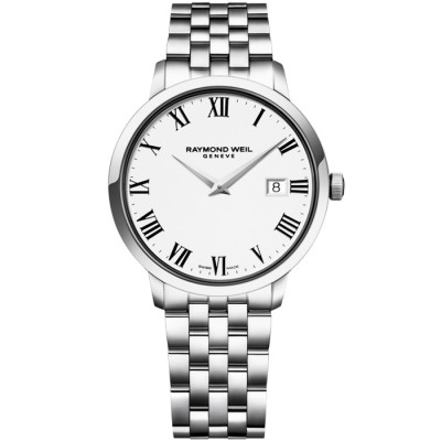 RAYMOND WEIL TOCCATA QUARTZ 39MM MEN'S WATCH 5488-ST-00300