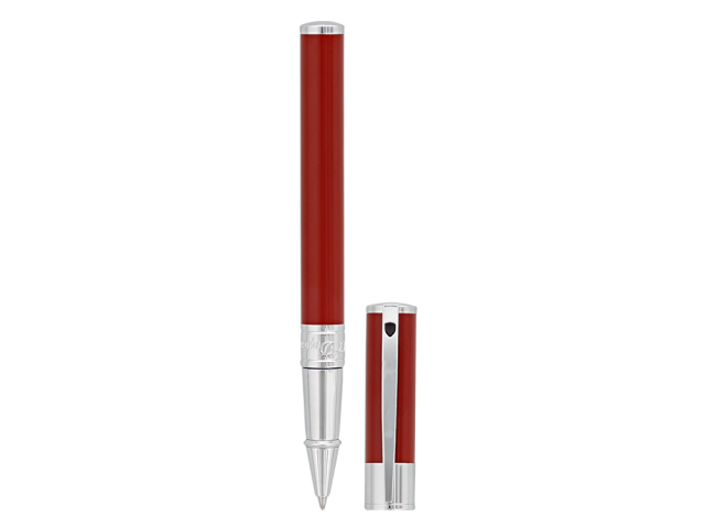 РОЛЕР S.T.DUPONT D-INITIAL RED &CHROME 262215