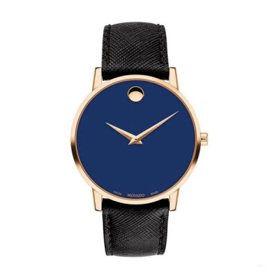 MOVADO MUSEUM QUARTZ 40MM MEN'S WATCH 607266