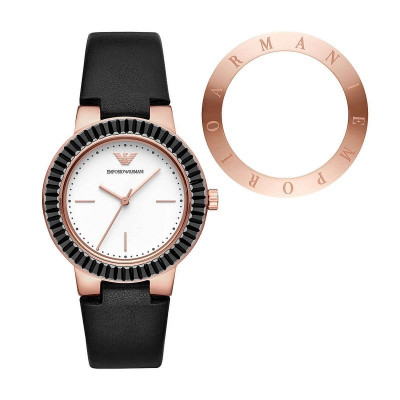 EMPORIO ARMANI GRETA  34MM LADIES WATCH AR80027