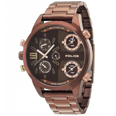 POLICE COPPERHEAD 53.5 MM MEN'S WATCH PL.14374JSBN/12M
