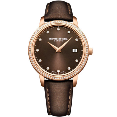 RAYMOND WEIL TOCCATA 34MM LADIES WATCH 5388-C5S-70081