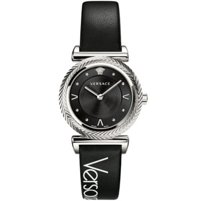 VERSACE V-MOTIF VINTAGE LOGO 35MM LADIES WATCH VERE009 18