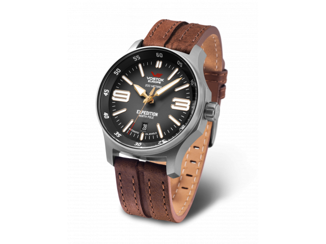 VOSTOK EUROPE EXPEDITION AUTOMATIC 43MM MEN'S WATCH NH35-592A555